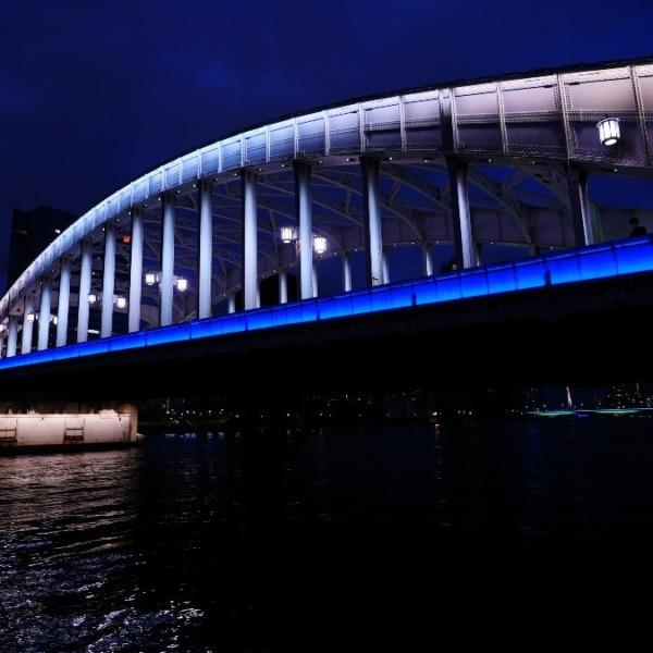 勝鬨橋夜景2020✨