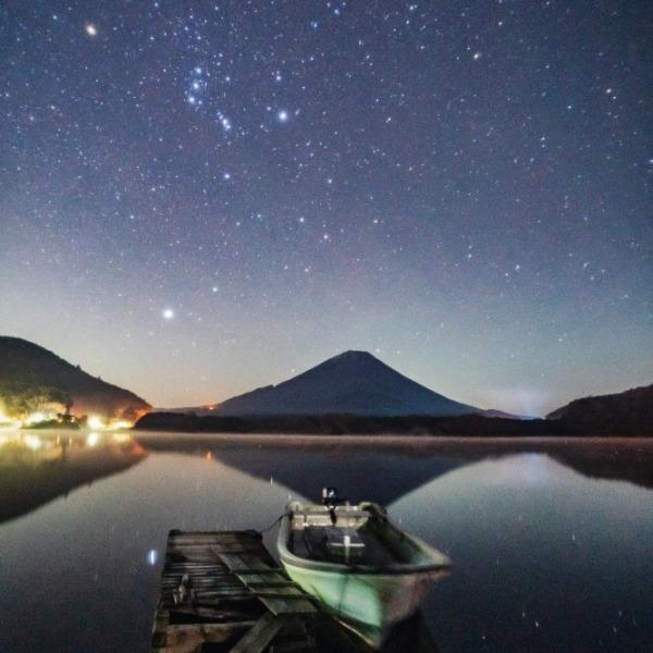 精進湖オリオン座