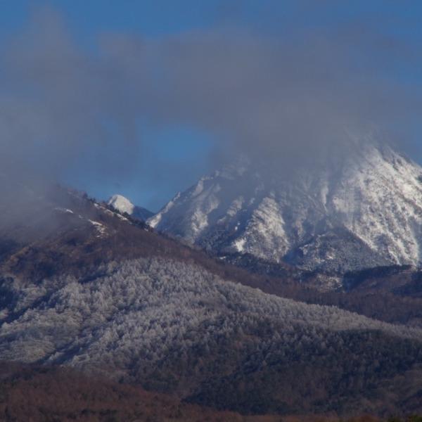 「八ヶ岳南麓の霧氷」