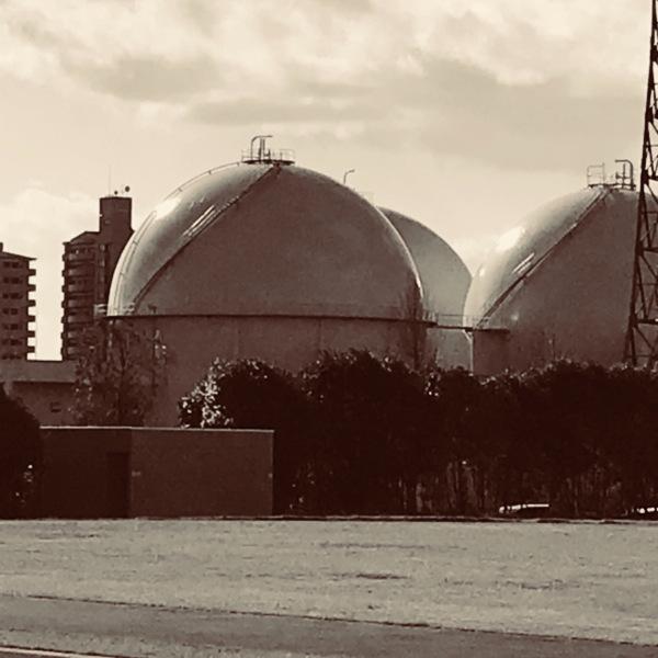 都会の球形