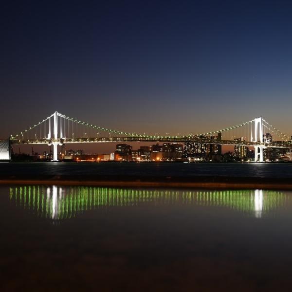 レインボーブリッジ夜景22020🆒希望の灯り✨