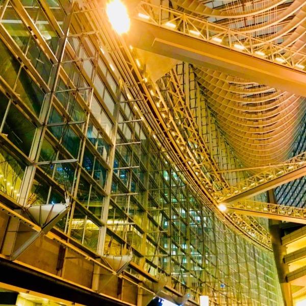 夜・東京国際フォーラム