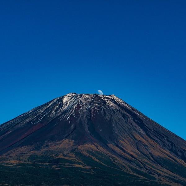 久しぶりの昼間の昇るパール富士