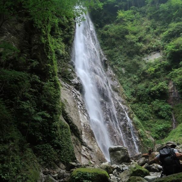 西丹沢本棚の滝