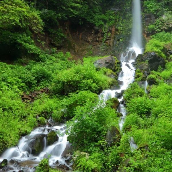 軽井沢 千ヶ滝 「縦型写真」