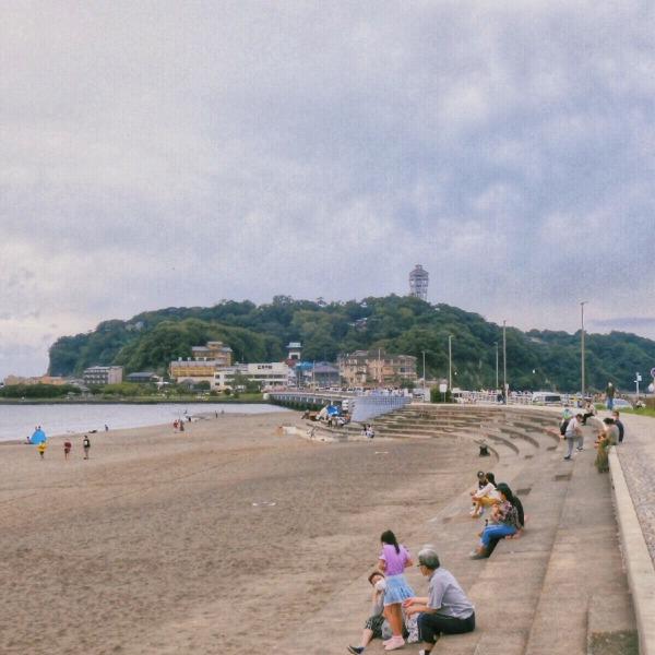 休日の江の島